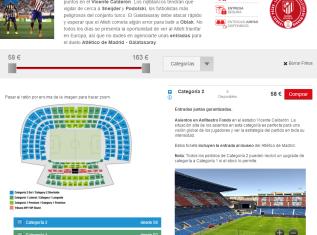 Atlético de Madrid - Spain Ticket Bureau