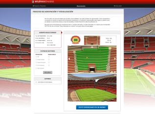 ATLÉTICO DE MADRID NEW STADIUM INCORPORATES TICKETING3D SOFTWARE