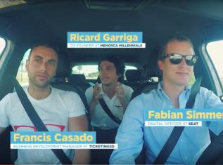 #SEATCARPOOLTALKS: FRANCIS CASADO EN MENORCA MILLENIALS